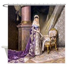 Makovsky: Empress Maria Fyodorovna Shower Curtain