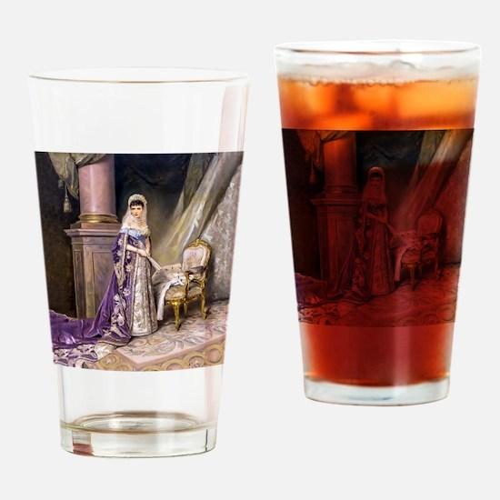 Makovsky: Empress Maria Fyodorovna Drinking Glass