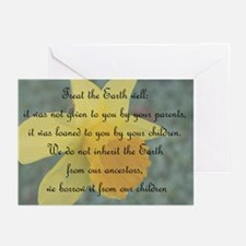 Can't own the Earth Greeting Cards (Pk of 10)