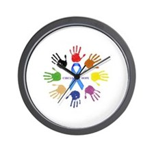circle of hope Wall Clock