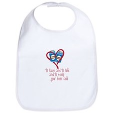 To Have And To Hold And To Keep Your Beer Cold Bib