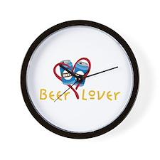 Beer Lover Wall Clock