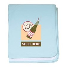 Sold Here baby blanket