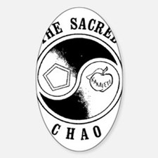 Sacred Chao Oval Decal