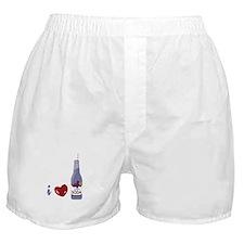 I Love Grape Soda Boxer Shorts