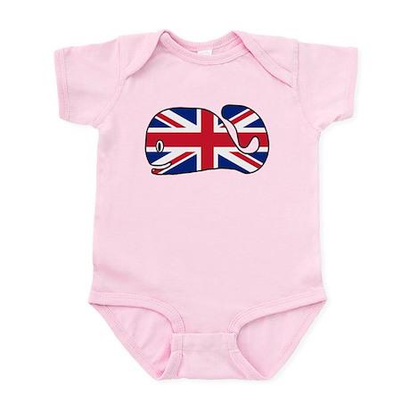 UK Whale Infant Bodysuit