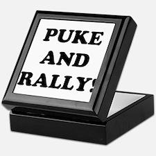 Puke & Rally<br> Keepsake Box