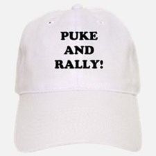 Puke & Rally<br> Baseball Baseball Cap
