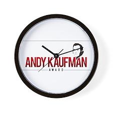 Andy Kaufman Award logo Wall Clock