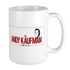 Andy Kaufman Award logo Mugs