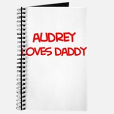 Audrey Loves Daddy Journal