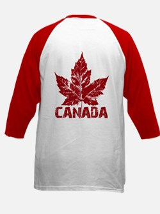 Cool Canada Souvenir Baseball Jersey Shirt Kid&#39
