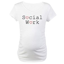 Social Work Hearts Shirt