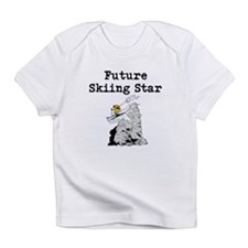 Future Skiing Star Infant T-Shirt