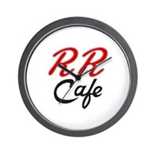 RR Cafe - Twin Peaks Wall Clock