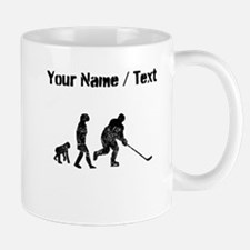 Custom Distressed Hockey Evolution Mugs