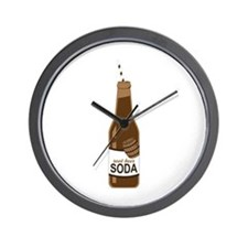 Root Beer Soda Wall Clock