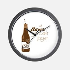 A Flavor You Can't Forget Wall Clock