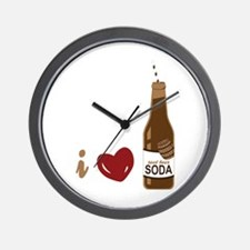 I Love Root Beer Wall Clock