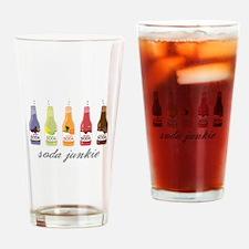 Soda Junkie Drinking Glass