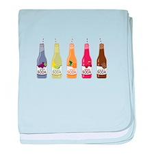 Soda baby blanket