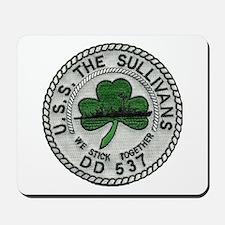 USS THE SULLIVANS Mousepad