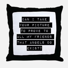 Can I Take Your Picture Throw Pillow