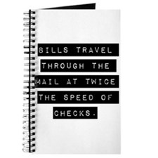 Bills Travel Through The Mail Journal