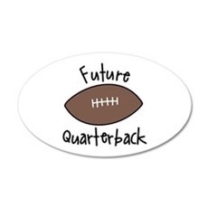 Future Quarterback Wall Decal