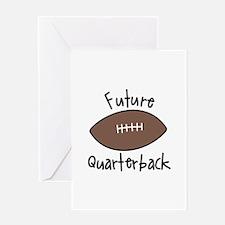 Future Quarterback Greeting Cards