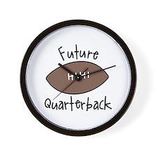 Future Quarterback Wall Clock