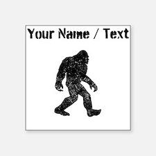 Custom Distressed Bigfoot Silhouette Sticker