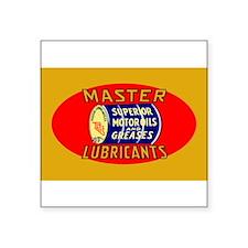 Master Lube Sticker