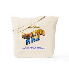 Greetings Minneapolis Tote Bag