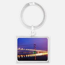 Humber Bridge at dusk Landscape Keychain