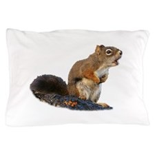 Singing Squirrel Pillow Case