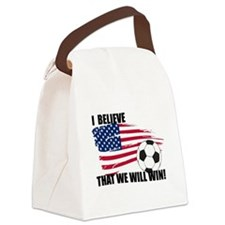 World Soccer USA I believe Canvas Lunch Bag