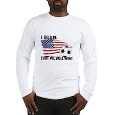 World Soccer USA I believe Long Sleeve T-Shirt