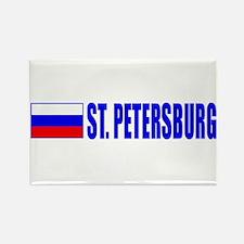 St. Petersuburg, Russia Rectangle Magnet
