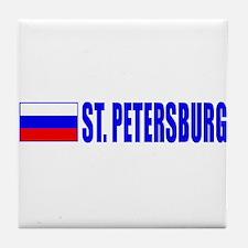 St. Petersuburg, Russia Tile Coaster