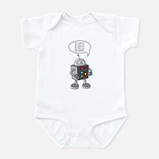 Binary Robot Infant Bodysuit