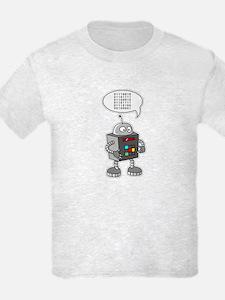 Binary Robot T-Shirt