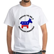 Proud Michigan Democrat Shirt