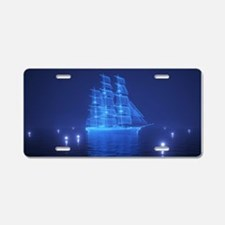 The Flying Dutchman Aluminum License Plate