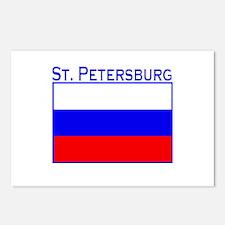 St. Petersburg, Russia Postcards (Package of 8)