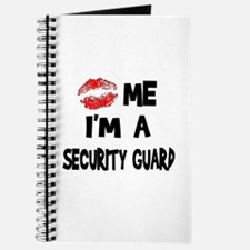 Kiss Me I'm A Security Guard Journal
