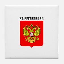 St. Petersburg, Russia Tile Coaster
