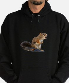 Singing Squirrel Hoodie (dark)