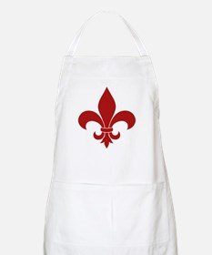 Fleur de lis French Pattern Parisian Design Apron