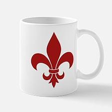 Fleur de lis French Pattern Parisian Design Mugs